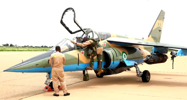 Wreckage Of Missing Air Force Jet Reportedly Found In Borno