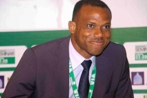 Saboteurs killed Eagles in 2002, says Oliseh