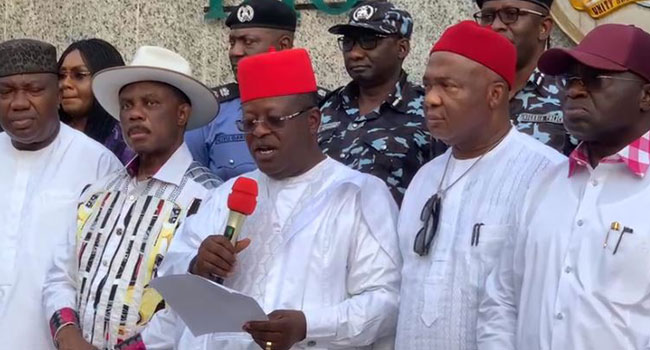 'EBUBE AGU': South-East Governors Establish New Outfit To Tackle Rising Unrest