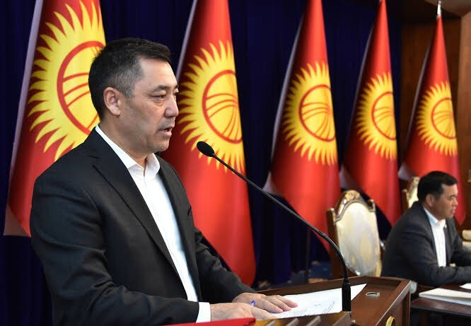 Kyrgyz president signs new constitution