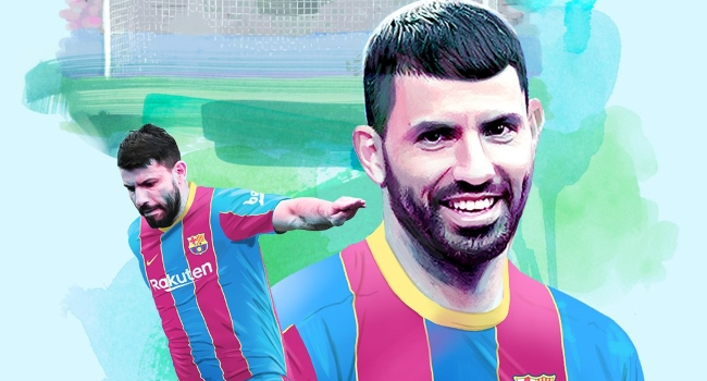 Aguero drops fresh comments on Messi's future at Barcelona