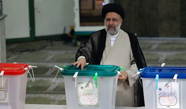 JUST IN: Iran's Raisi Elected President With 61.95% Of Vote