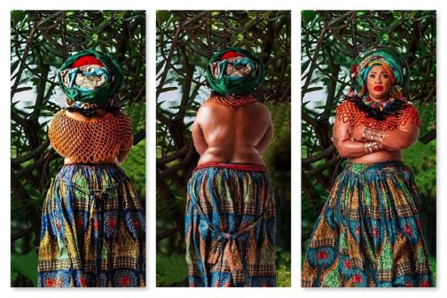 Clarence Chukwurah celebrates 57th birthday with her topless pictures