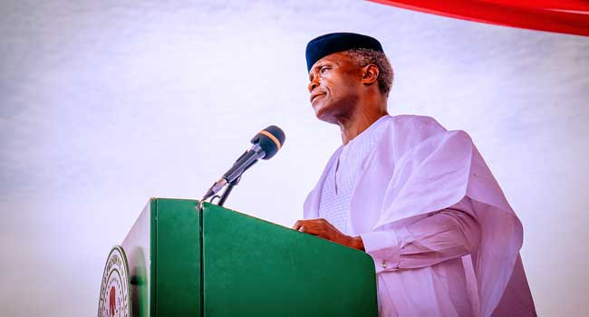 Funding Of Police Force Remains A Huge Challenge – Osinbajo