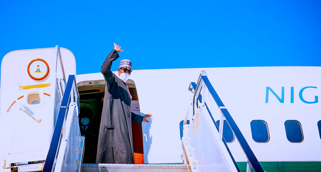 Buhari Departs New York After Attending UN General Assembly