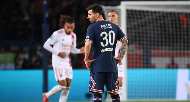 PSG Beat Lyon But Messi Yet To Score First Goal In France