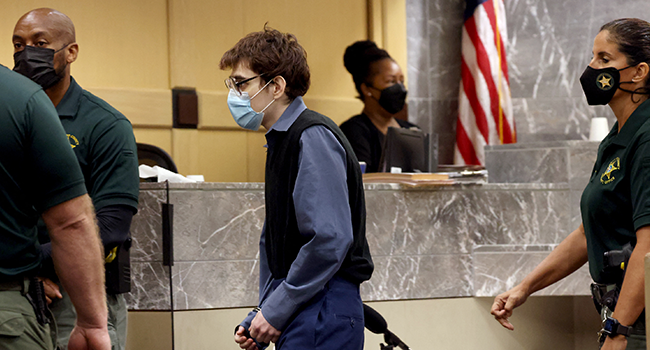 US High School Shooter Pleads Guilty, Says He's 'Very Sorry'